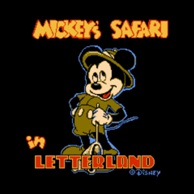 Mickeys Safari in Letterland