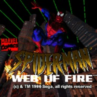 Spider-Man Web of Fire 32x