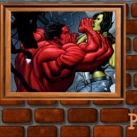 She Hulk vs Red Hulk